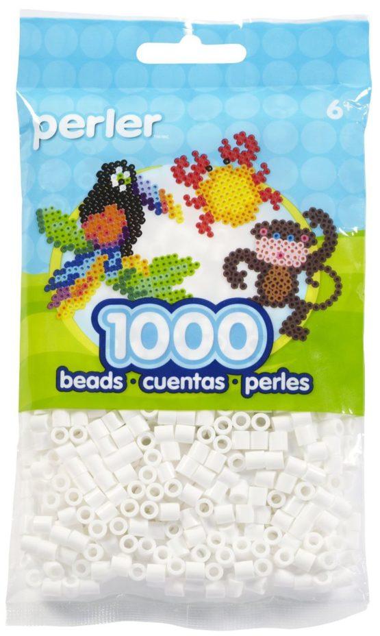 Perler Beads White Bag