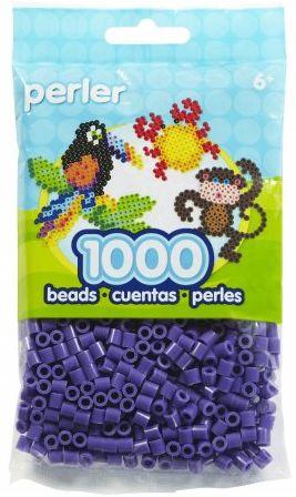 Perler Beads Purple Bag