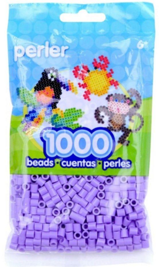 PERLER BEADS Pastel Lavender Bag