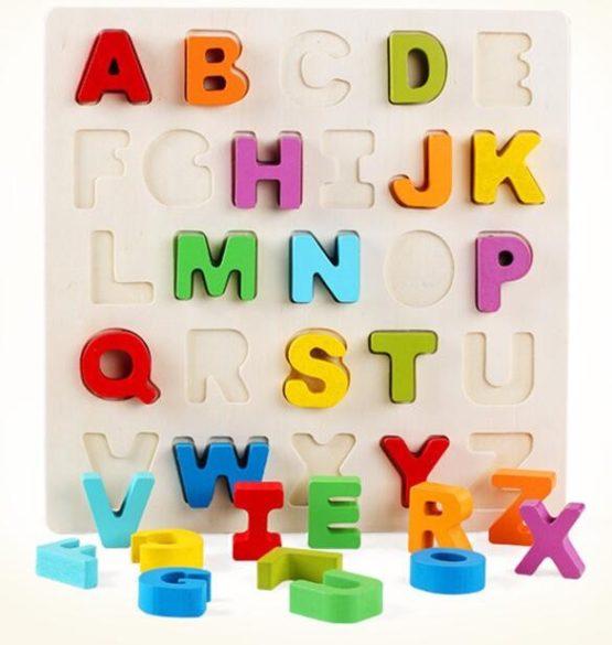 Wooden Chucky Alphabet Puzzle