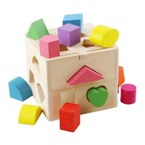 Young Mindz Classic Shape Sorting Cube