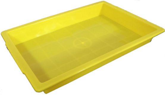 Plastic Sand Tray – Yellow