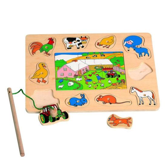 Young Mindz Magnetic Farm Animals Puzzle