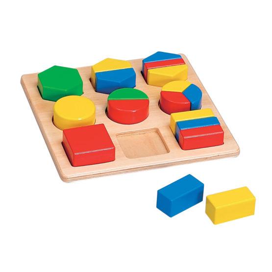 Young Mindz Montessori Shape Sorting Board