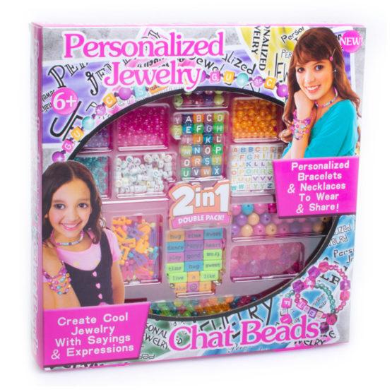 Young Mindz Personalized Jewelry Chat Beads Set