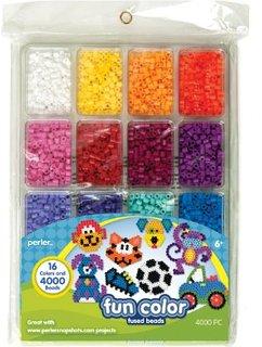 Perler Beads Fun Colors Bead Tray – 4000pc